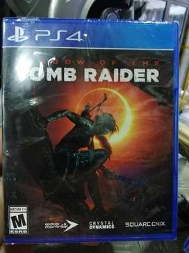 Shadow Of The Tomb Raider Nuevo Sellado