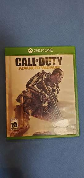Vendo Call of Duty Advanced Warfare para X box one