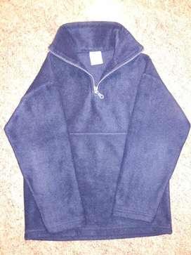 Buzo Polar Azul Marino Talle 10