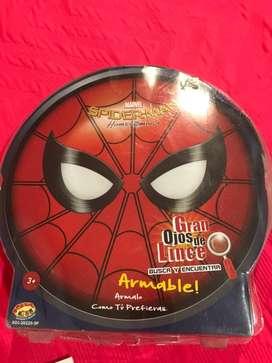 Juego spiderman, gran ojos de lince, excelente usado