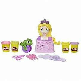 Play Doh Set de peinados Repunzel