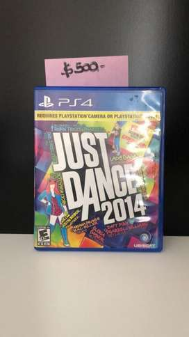 Juego JUST DANCE PS4