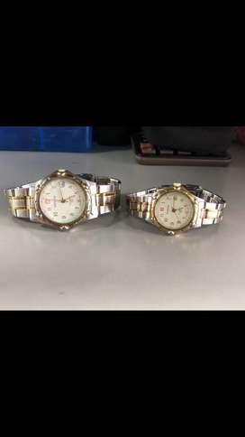 Reloj WENGER PAREJA ORIGINAL ZAFIRO