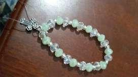 Venta de pulseras elasticos con cristales