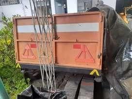 Remolque para carga reforzado
