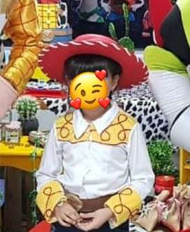 Disfraz Toy Story Vaquerita Jesse talla 6