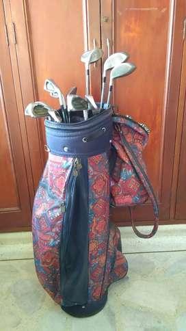 Set de Palos de golf completo Mitsushiba con maleta.
