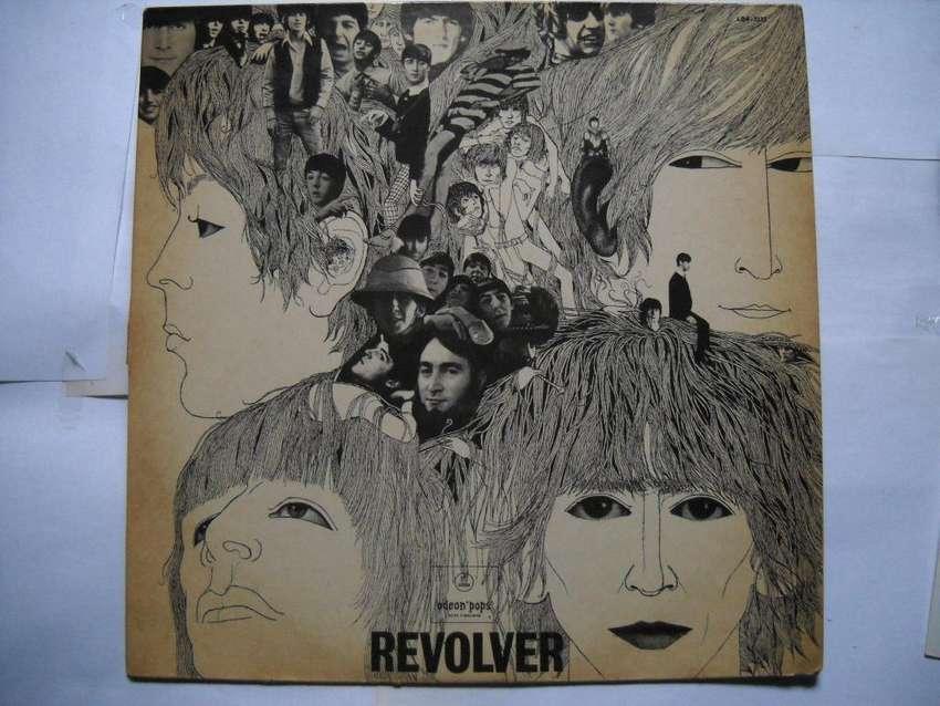 the beatles revolver vinilo m/b estado 0