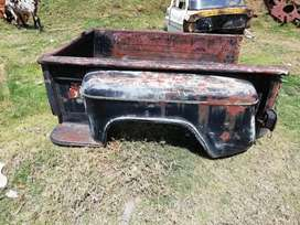 Platón de camioneta chevrolet modelo 55 al año 66 platón ranchero