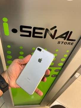 IPHONE 7 PLUS 128GB BATERÍA 100 ORIGINAL  SOMOS TIENDA FÍSICA  ISEŃALSTORE LIBRES PARA REGISTRO ACEPTAMOS