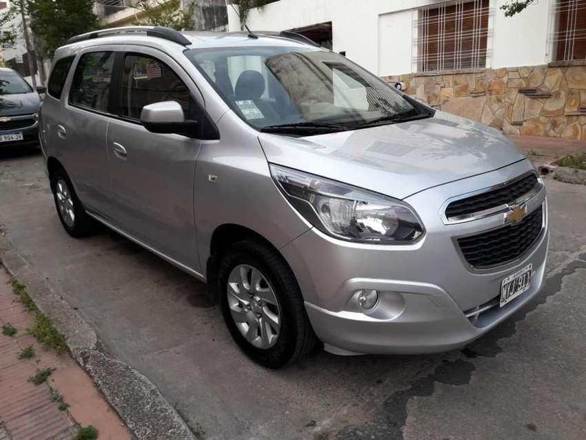 Chevrolet Spin Ltz Mod 2013 7asientos 0