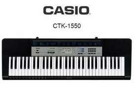 TECLADO ORGANO ELECTRONICO PIANO CASIO CTK 1550 (NUEVO)