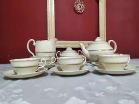 Juego de Té y café.Antigüo 1792. Británico.
