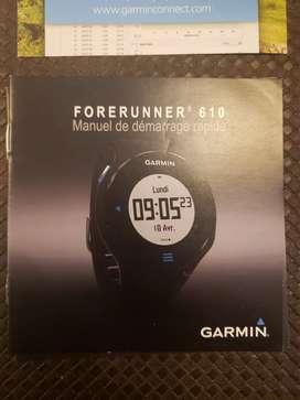 Reloj Garmin Forerunner 610