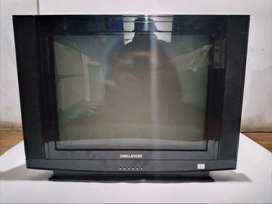 Televisor 21 pulgadas challenger negro