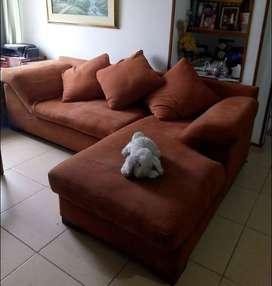 sofa en L  para sala