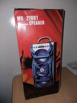 parlante rojo- mobiel speaker - NUEVO