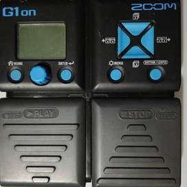 Pedal de Guitarra Multiefectos ZOOM G1on