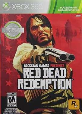 Red Dead Redemption Xbox 360 Usado