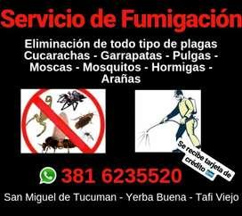 Fumigaciones en Tucumán
