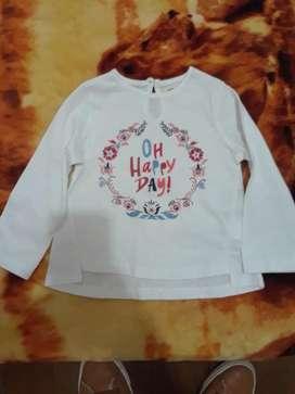 Blusa de Bebe/12meses