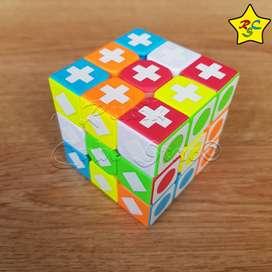 Cubo Rubik 3x3 Alumbra Oscuridad Doble Solucion Stickerless