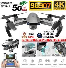 Drone SG907 Camara 4K doble DUAL GPS sensores sigueme estab 500m 18min