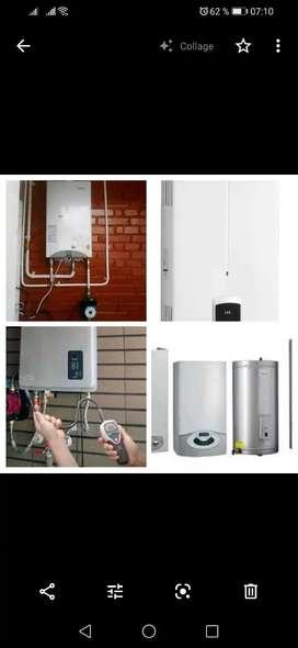 Reparación venta y mantenimiento calentadores a Gas.