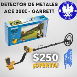 DETECTOR DE METALES ACE 200I - GARRETT