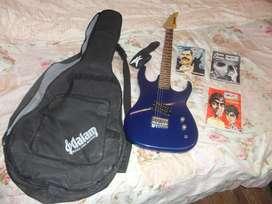 Usado Guitarra Eléctrica Kramer Striker C/funda pua Y Correa