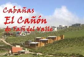 Cabañas en Tafi del Valle con pileta y habitaciones  para 2 a 6 Personas x día/semana  promo vacaciones