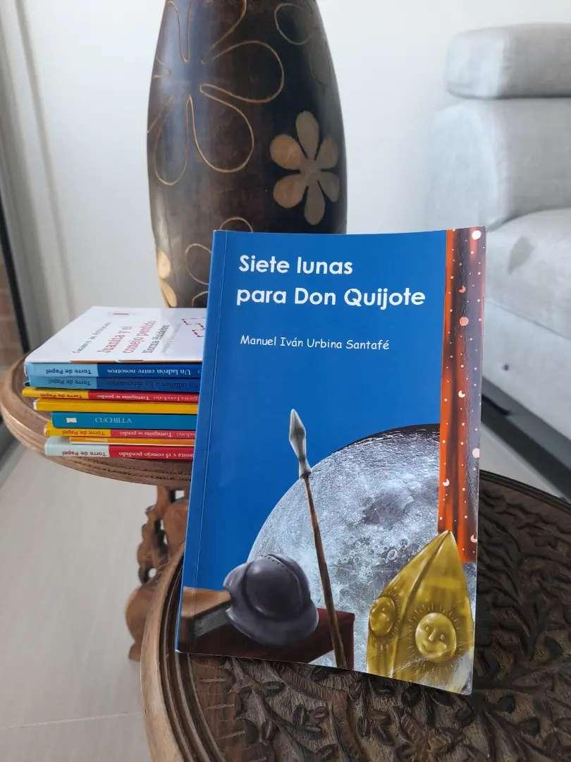 Libro - Siete lunas para don Quijote - Manuel Iván Urbina Santafe 0