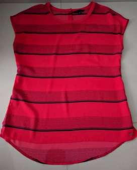 Blusa en seda talla 10