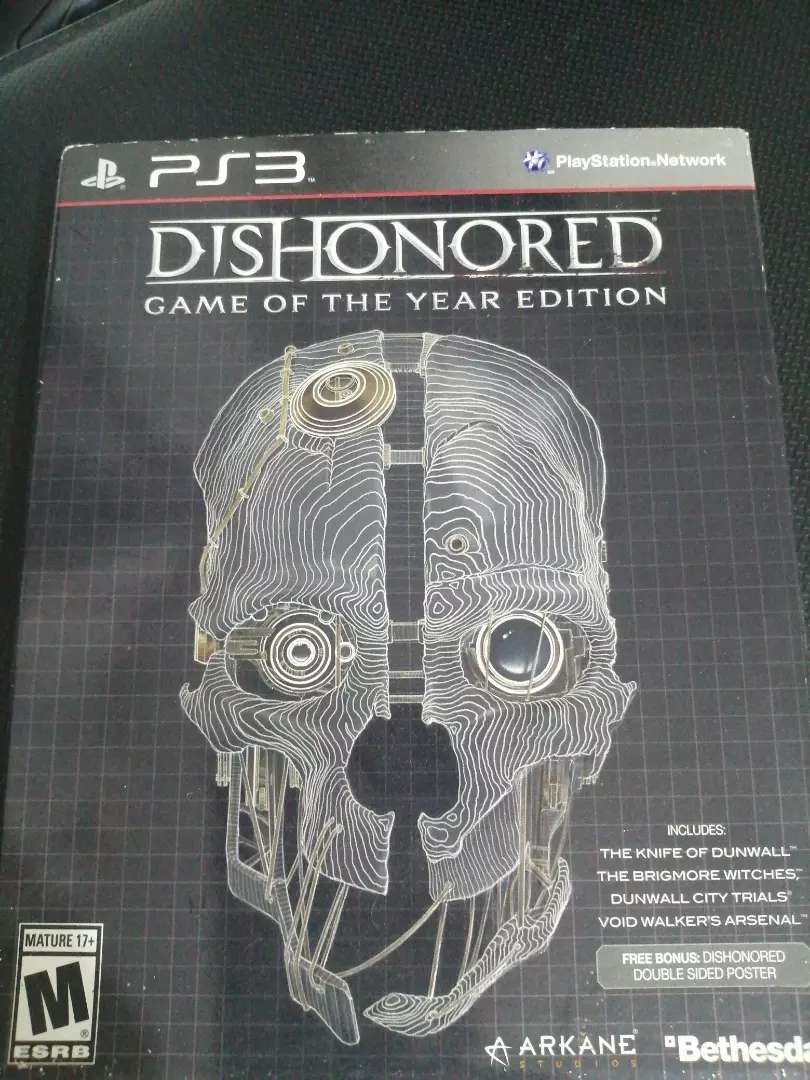 Juego ps3 DISHONORED 0