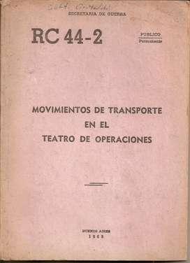 Libro Movimientos transp teatro operaciones sec guerra 1965