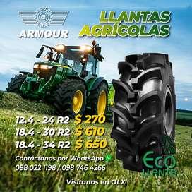 Llanta Agricola Armour 12.4 - 24 R2 / 18.4 - 30 R2 / 18.4 - 34 R2