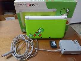 Nintendo 3ds Xl Yoshi Edition Con 64 Gb Original Y Juegos