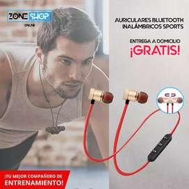 Auriculares Inalámbricos Deportivos (Sports) $10