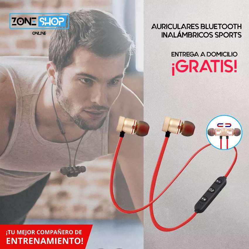 Auriculares Inalámbricos Deportivos (Sports) $10 0