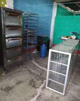 Se vende materiales de panadería