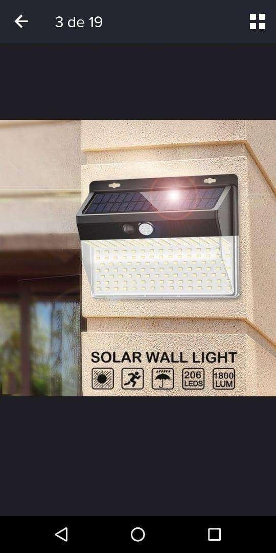 Lampara solar, regador solar y cargador de celu solar..OFERTA!!! 0