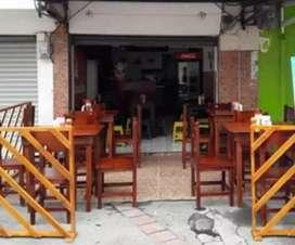 Vendo mesas y sillar para restaurante