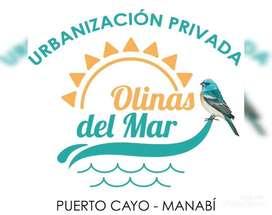 Lotes urbanizados Olinas Del Mar con $100 entradas crédito directo/ sd3