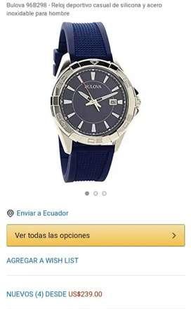 Reloj Bulova 96B298