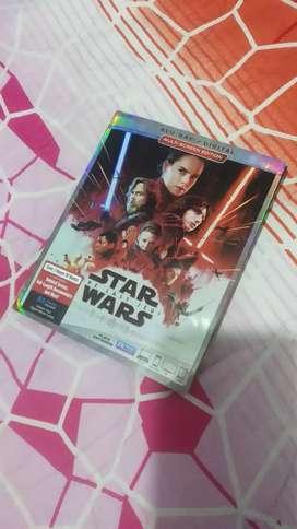 Star Wars the last jedi episodio VIII (Bluray original)