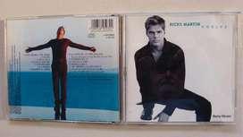 CDs de Ricky Martin originales 1998 a 2006