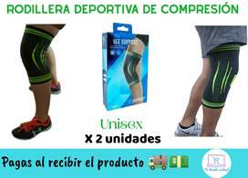 Rodillera ortopédica deportiva  X 2 Unidades