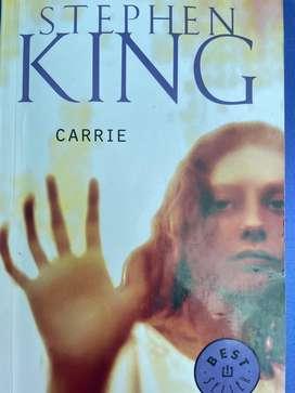 "Libro ""Carrie"""