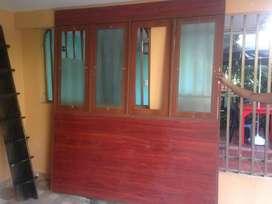 puertas corredizas en madera