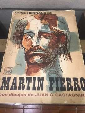 Martin Fierro/ dibujos de Juan c. Castagnino /1962